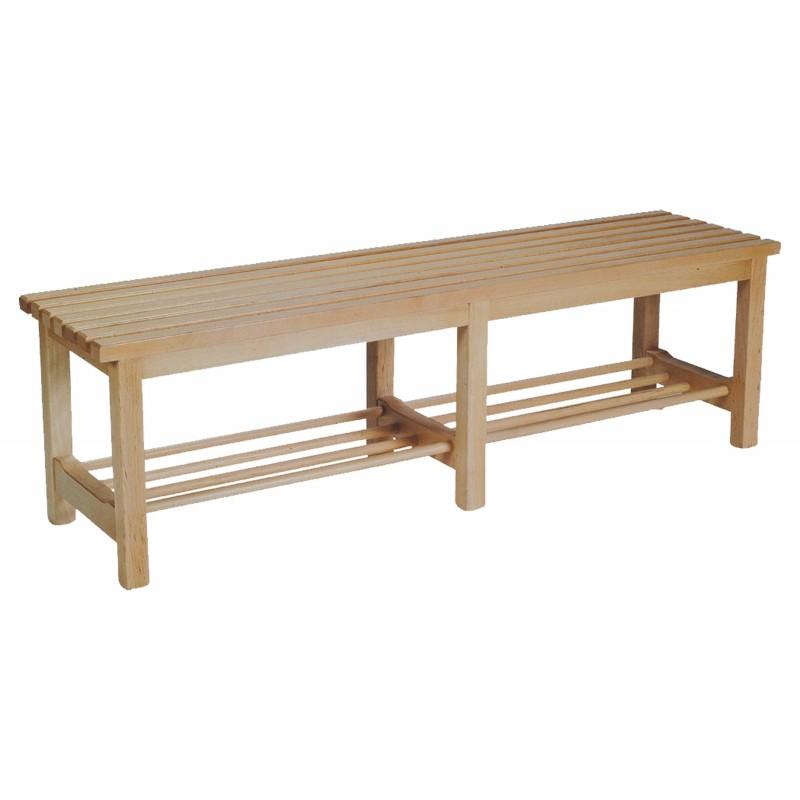 Banco de vestuario madera - Banco de madera ...