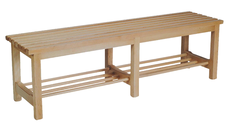 Banco madera barato mesa para la cama - Banco de madera ...