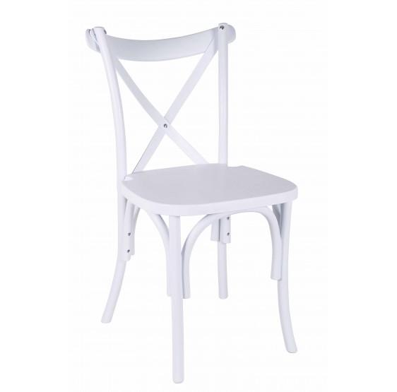 Silla X blanca - Aporsillas.com