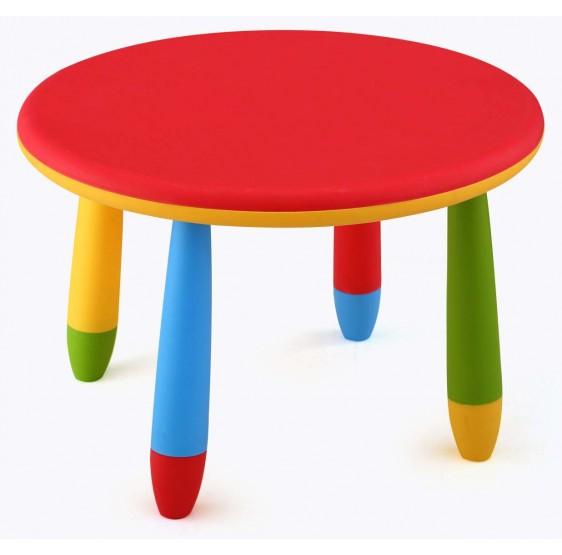 Mesa infantil redonda